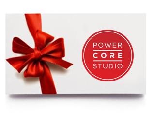 Darčekový poukaz Power Core Studio